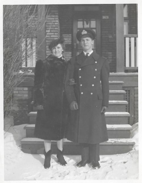 Nana and son Charles c 1944