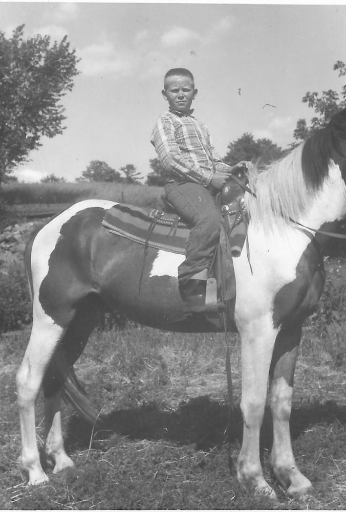David at Frontier Ranch c 1963