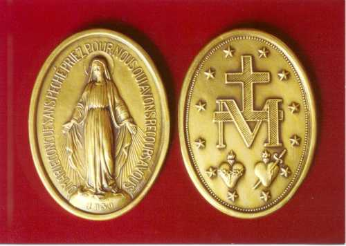 Miraculous-Medal-gold-scarlet