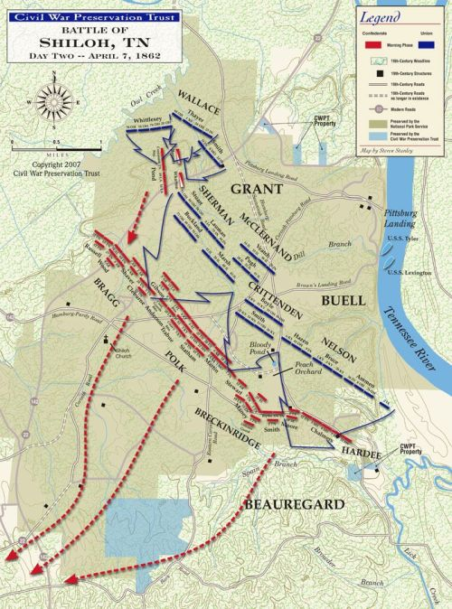 battle of shiloh 7april1862