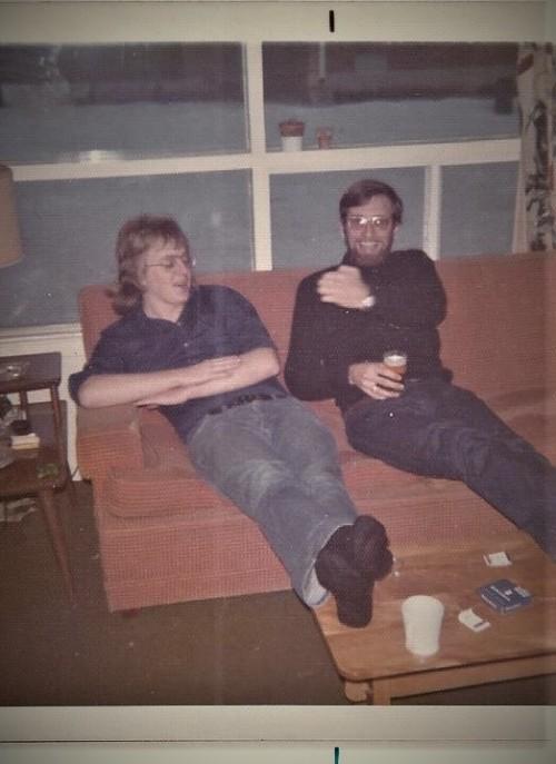 Mike and John 1973