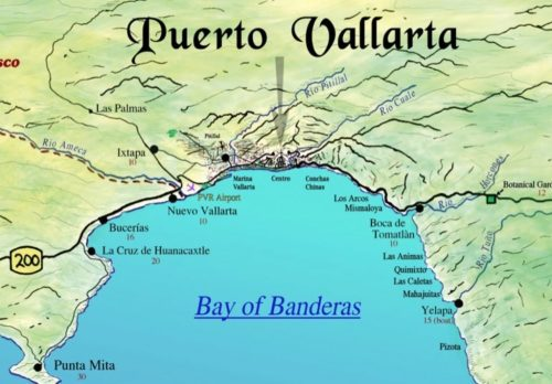 Banderas-Bay-Mexico-map