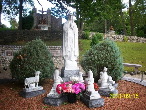 Our Lady in the Garden