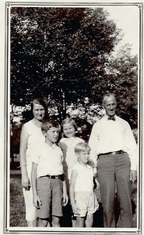 Ward family circa 1930